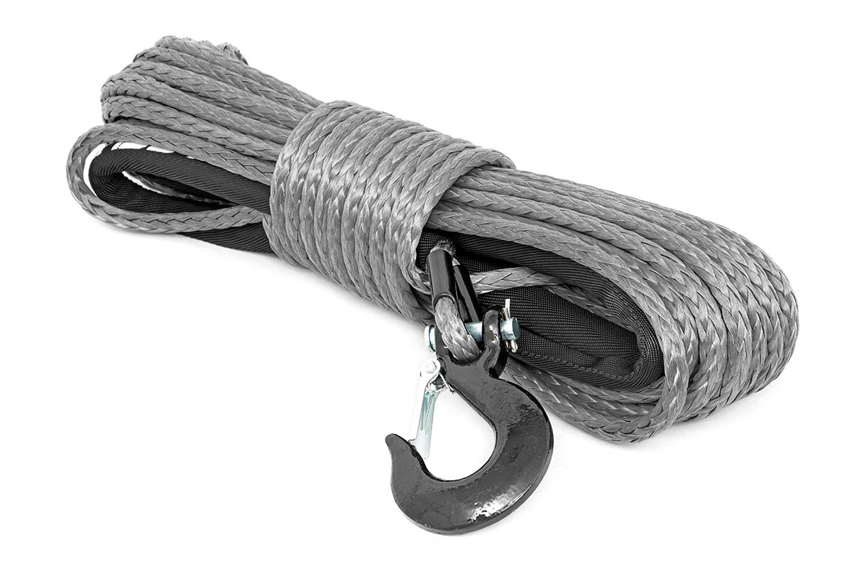 Rough Country Synthetic Winch Rope Grey