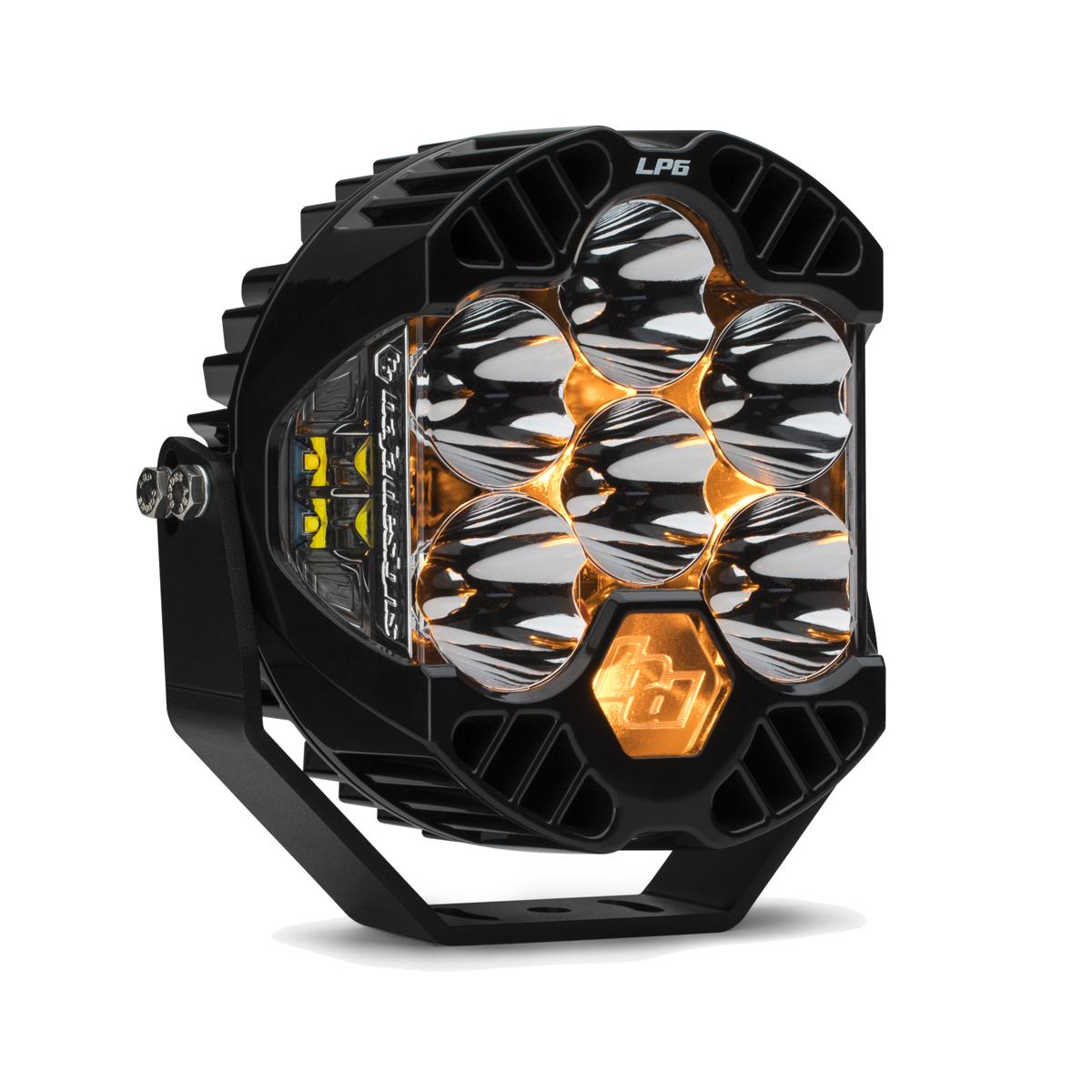 270001 Baja Designs LP6 Pro LED 6 Inch Spot Each Black