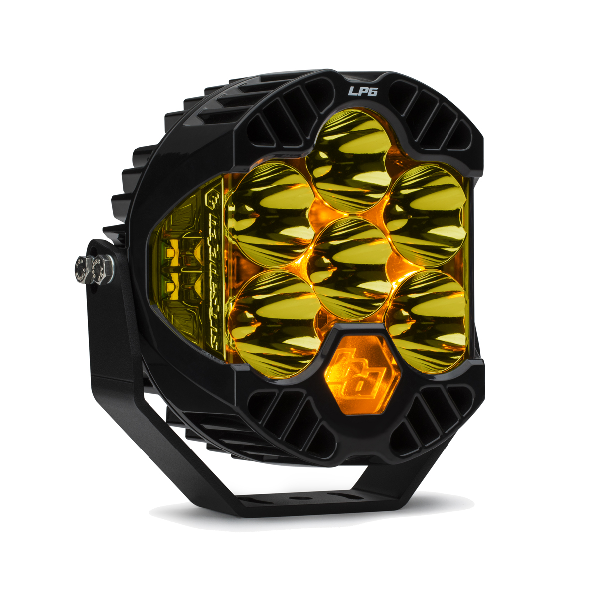 Baja Designs LP6 Pro LED Light, Amber