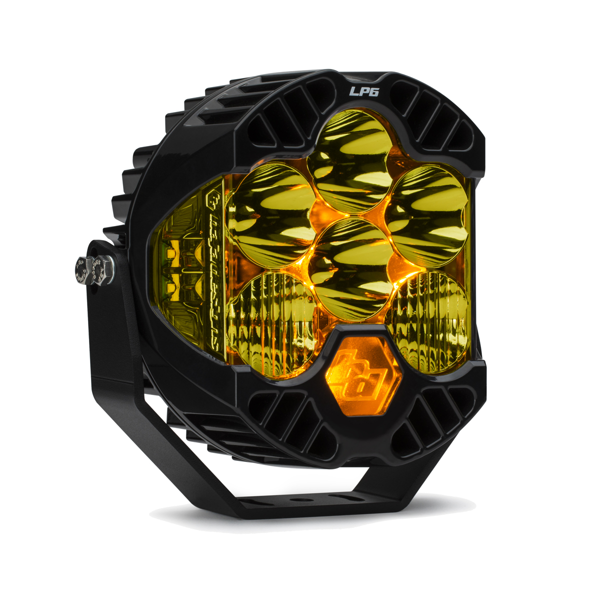 Baja Designs LP6 Pro LED Driving Combo Light, Amber