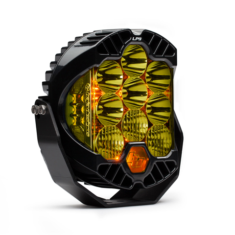 Baja Designs LED Light Pods Driving Combo Pattern Amber LP9 Series