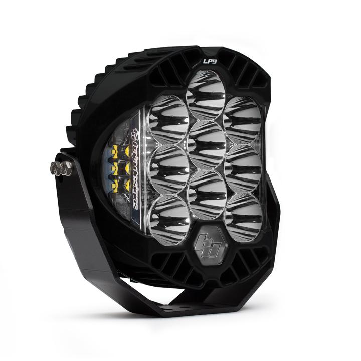 350001 Baja Designs LP9 Sport LED Pod Spot White Baja Desgins Each Satin Black
