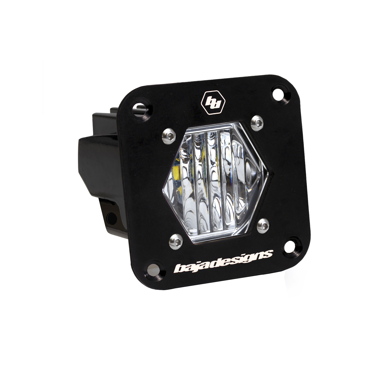 Baja Designs Flush Mount Clear S1 Wide Cornering LED Light Pod