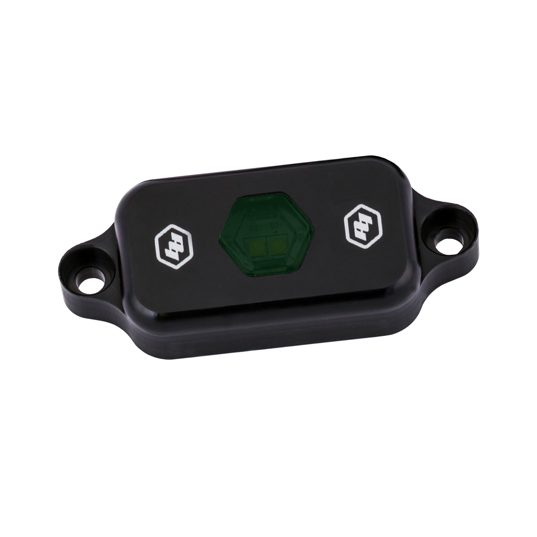 398047 Baja Designs LED Rock Light Green Each Black