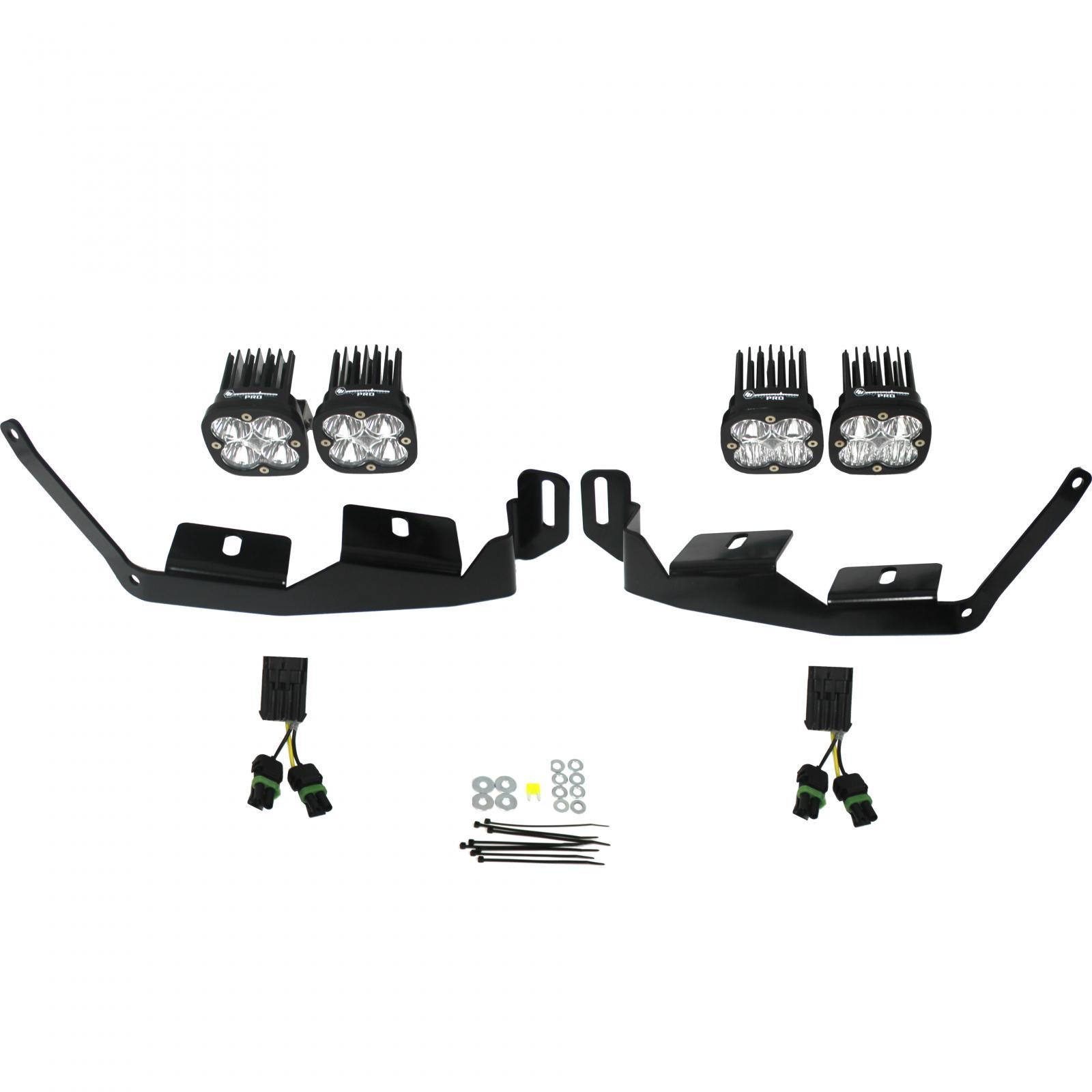 447013 Baja Designs Polaris Headlight Kit 2014-Present RZR XP1000/RS1 Pro Kit Black
