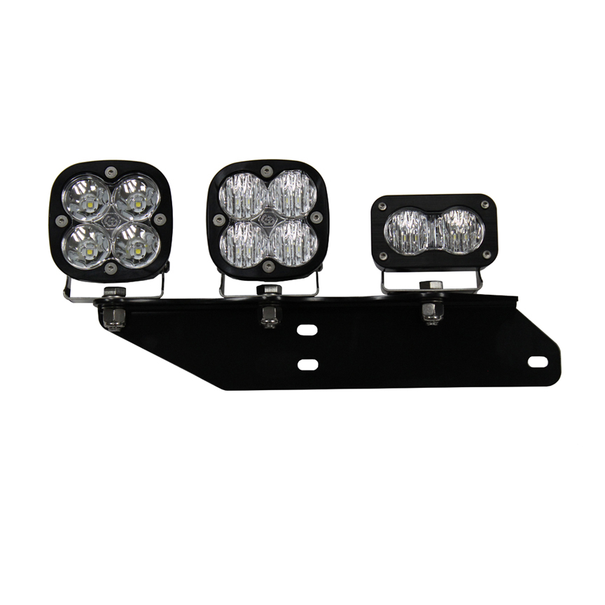 Baja Designs Raptor Fog Light Kit 17-18 F-150 Raptor Fog Pocket Kit SAE Sportsmen