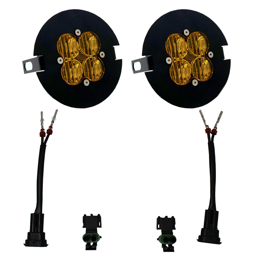 Baja Designs F-150, Tundra, Tacoma SAE Amber Fog Light Kit