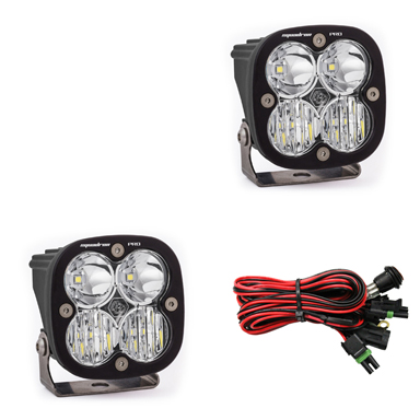 497803 Baja Designs LED Light Pods Driving / Combo Pattern Pair Squadron Pro Series