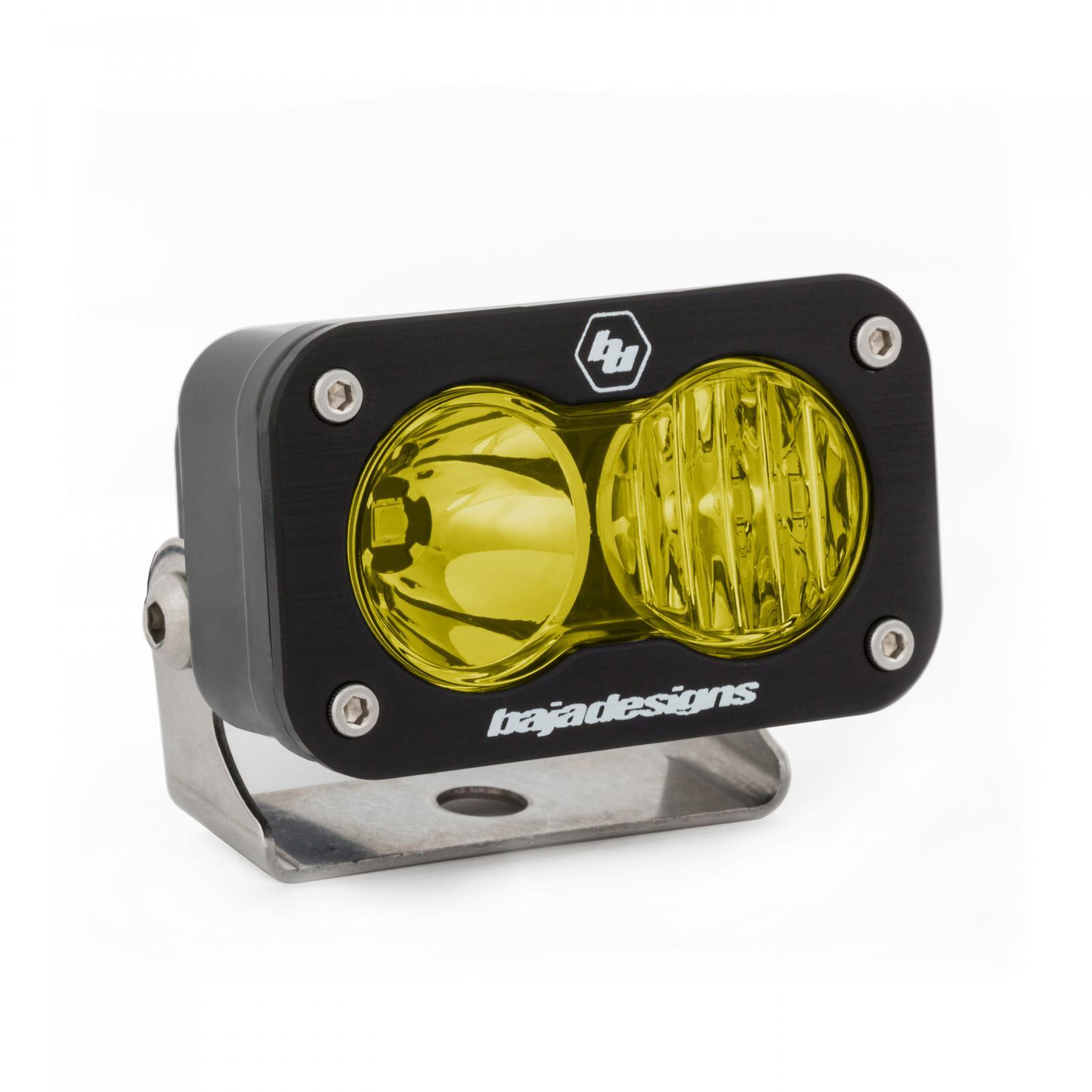 Baja Designs LED Work Light Amber Lens Driving Combo Pattern Each S2 Sport