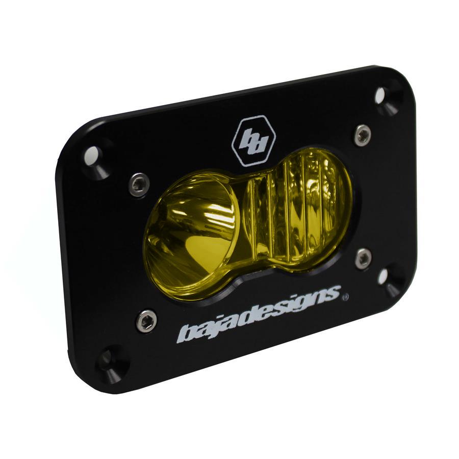 541013 Baja Designs S2 Sport LED Driving/Combo Amber Flush Mount Amber