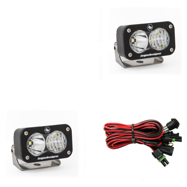 547803 Baja Designs S2 Sport Pair Driving / Combo LED Black