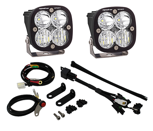 558003 Baja Designs Triumph Tiger 800XC LED Adventure Bike Kit Squadron Sport Kit