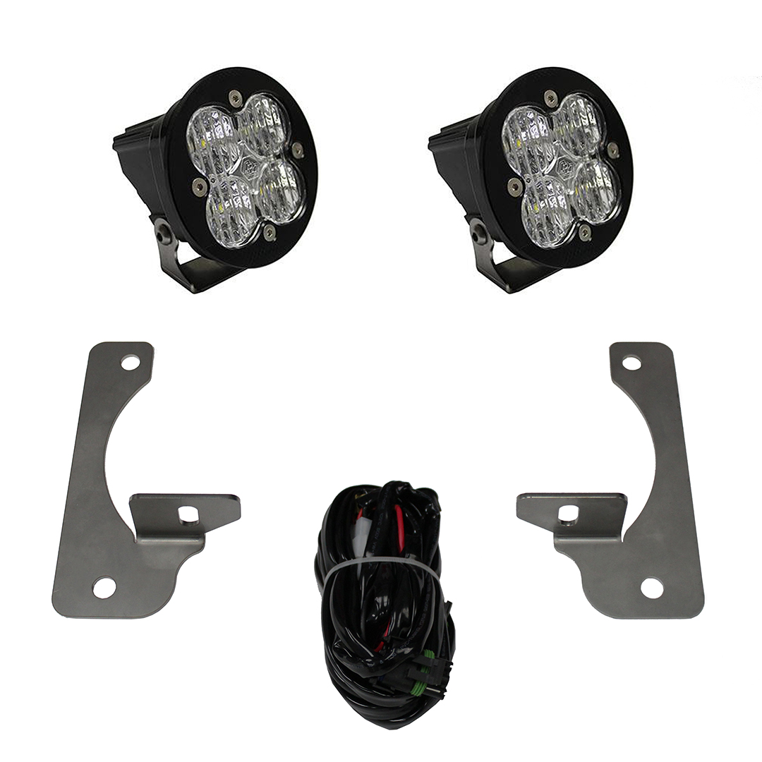 Jeep JK LED Light Kit 13-16 JK Rubicon X/10th Anne/Hard Rock Squadron-R Sport Baja Designs