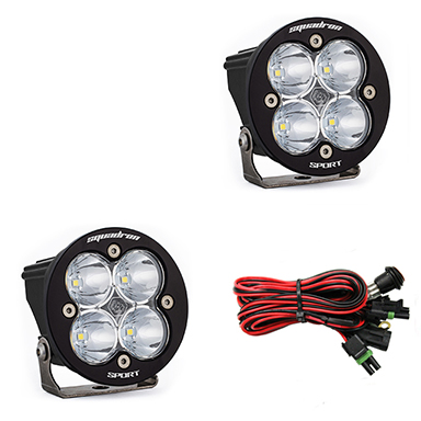 587801 Baja Designs Squadron-R Sport, Pair Spot LED
