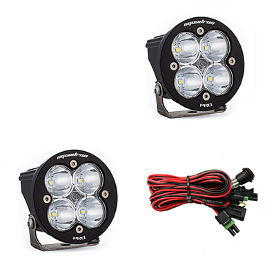 597801 Baja Designs Squadron-R Pro, Pair Spot LED