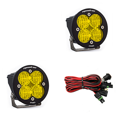 597815 Baja Designs Squadron-R Pro, Pair Wide Cornering Amber LED