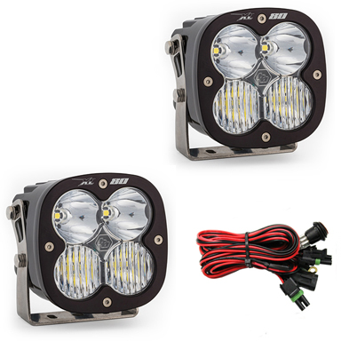 677803 Baja Designs LED Light Pods Driving Combo Pattern Pair XL80 Series Pair Black