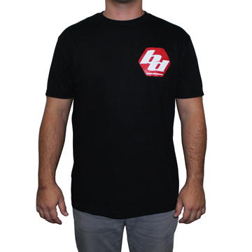 980003 Baja Designs Black Men's T-Shirt Extra Large Each Black
