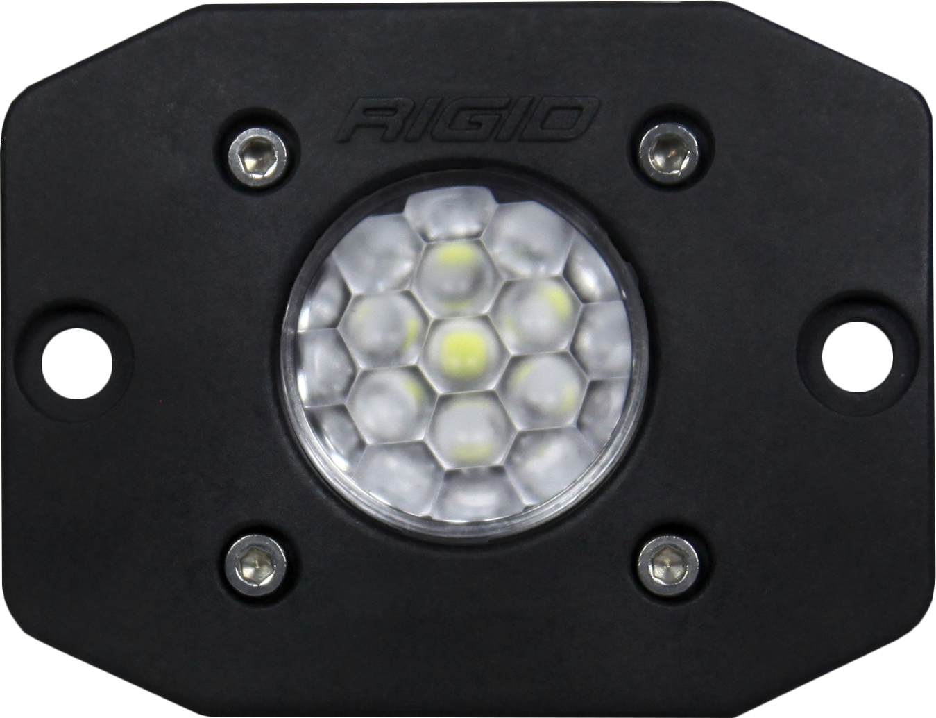 Rigid Industries Ignite Diffused Flush Mount, Black