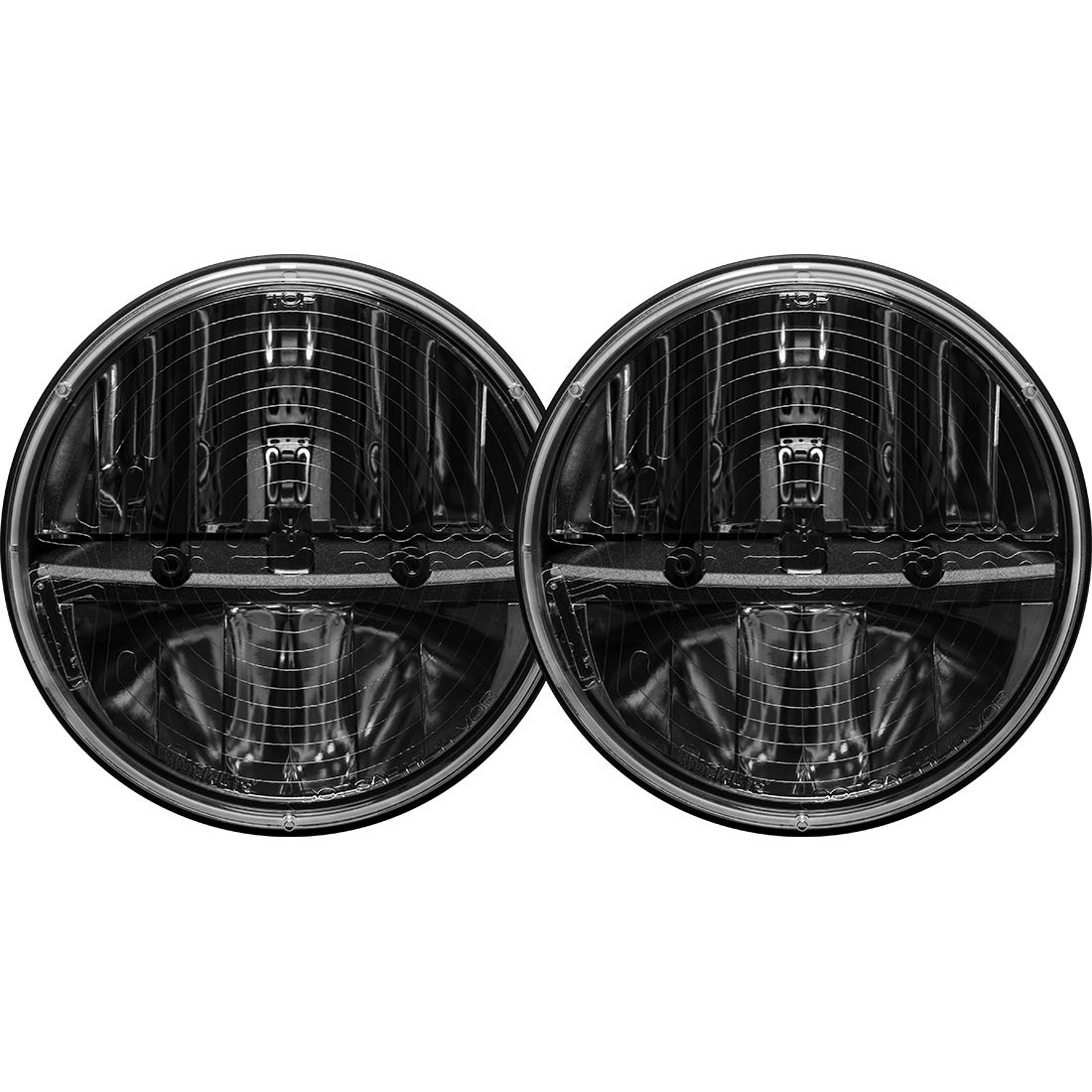 Rigid Industries 7in Round LED Heated Headlight Kit - JK