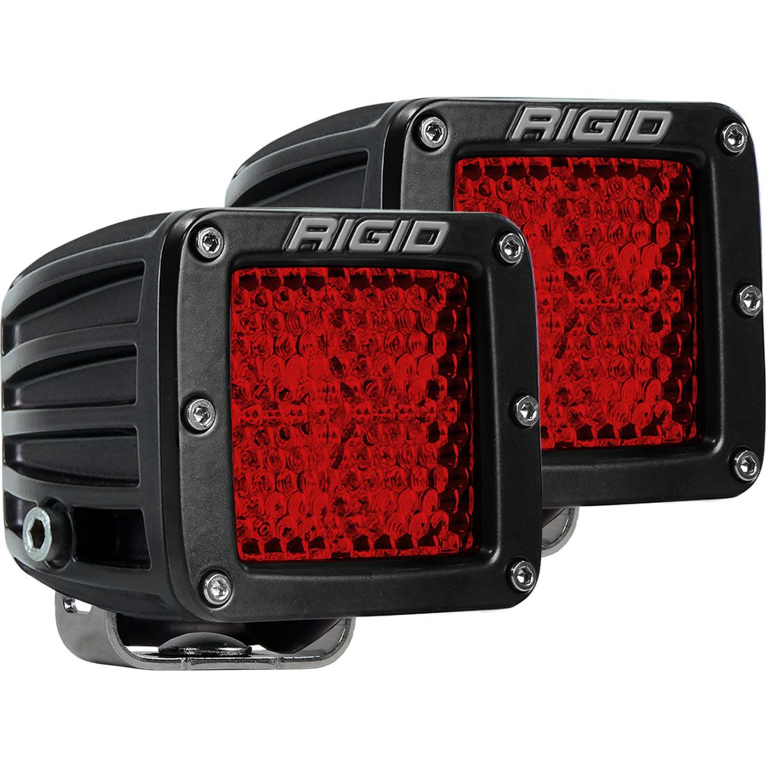 Diffused Rear Facing High/Low Surface Mount Pair D-Series Pro RIGID Industries