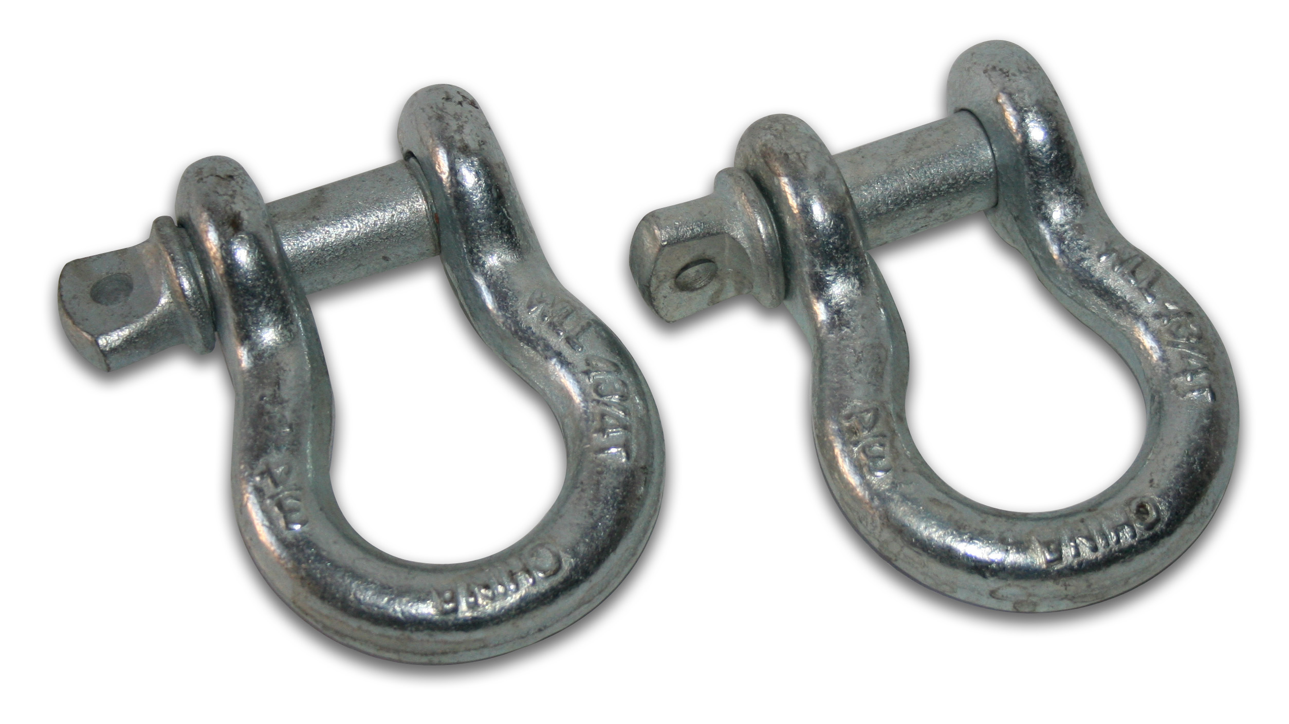 Bulldog Winch 3/4in Shackle, Silver - 9,500lbs WLL