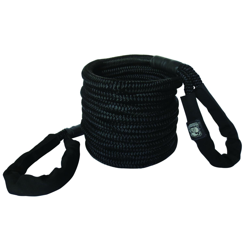 Big Dog Rope 7/8 x 30 Ft 22k BS Black Bulldog Winch