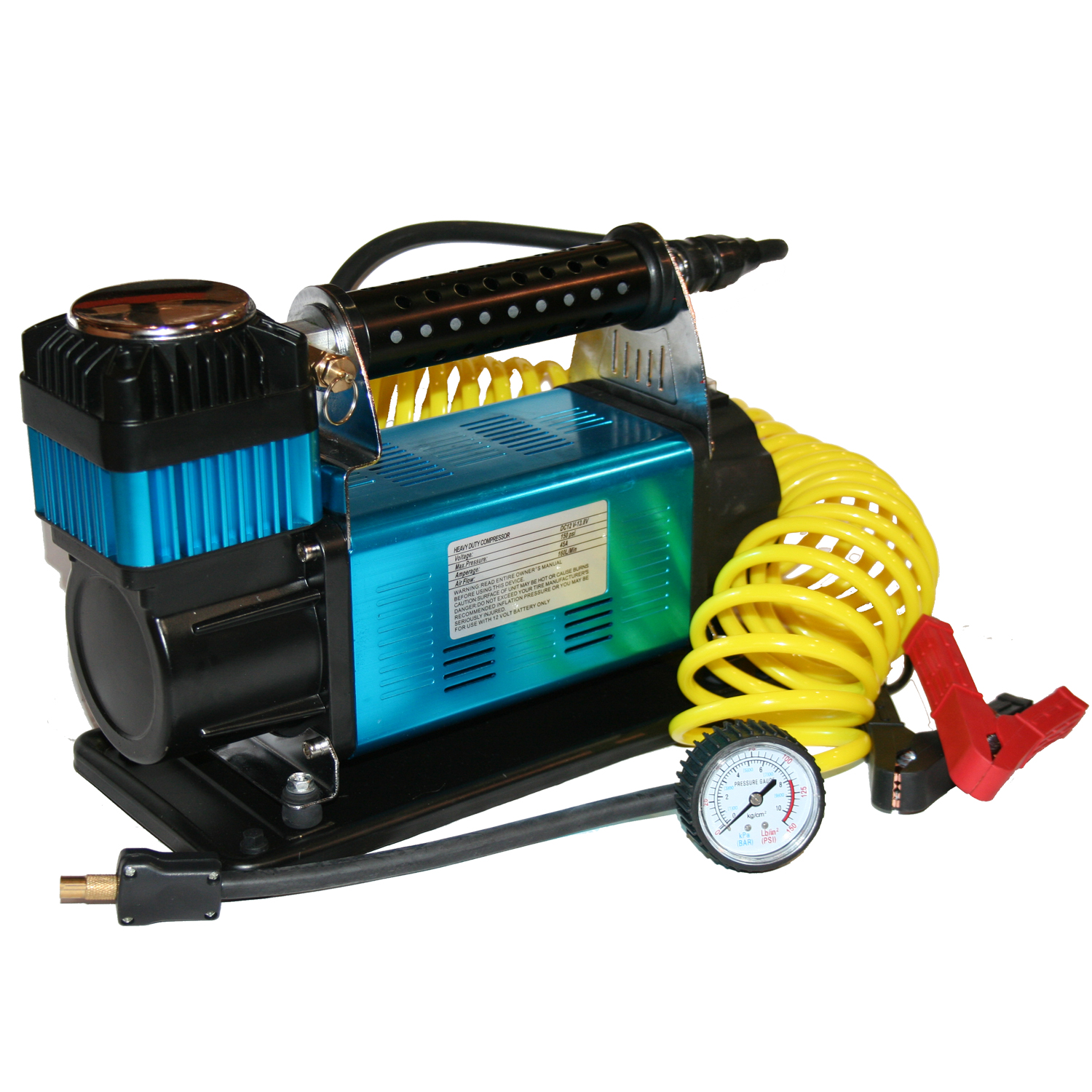 150 PSI Air Compressor Portable Automatic Bulldog Winch