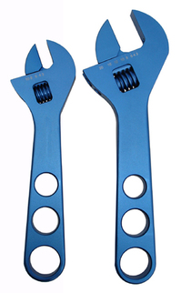 Proform Adjustable AN Fitting Wrench Set Aluminum Blue Anodized Complete Set Proform