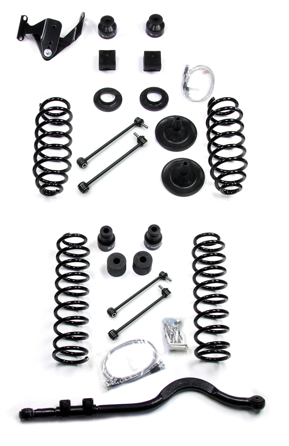 Teraflex 4in Lift Kit W/O Shocks - JK 4DR