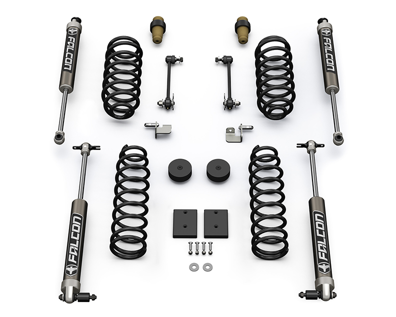 Teraflex 1.5in Sport ST1 Suspension System w/ 2.1 Falcon Shocks - JK 2dr