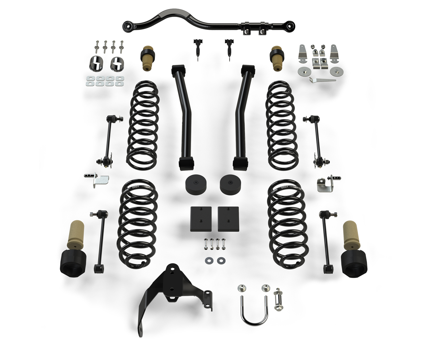 Teraflex 2.5in Sport ST2 Suspension System - No Shocks - JK 2Dr