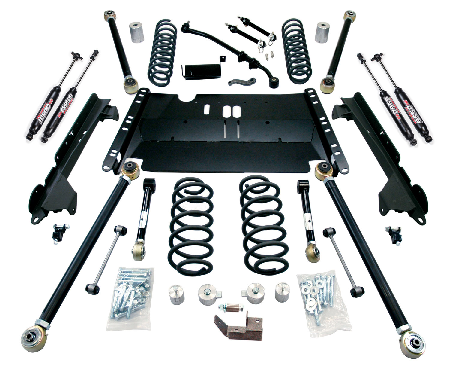 Teraflex 4in Enduro LCG Lift Kit W/9550 Shocks - LJ