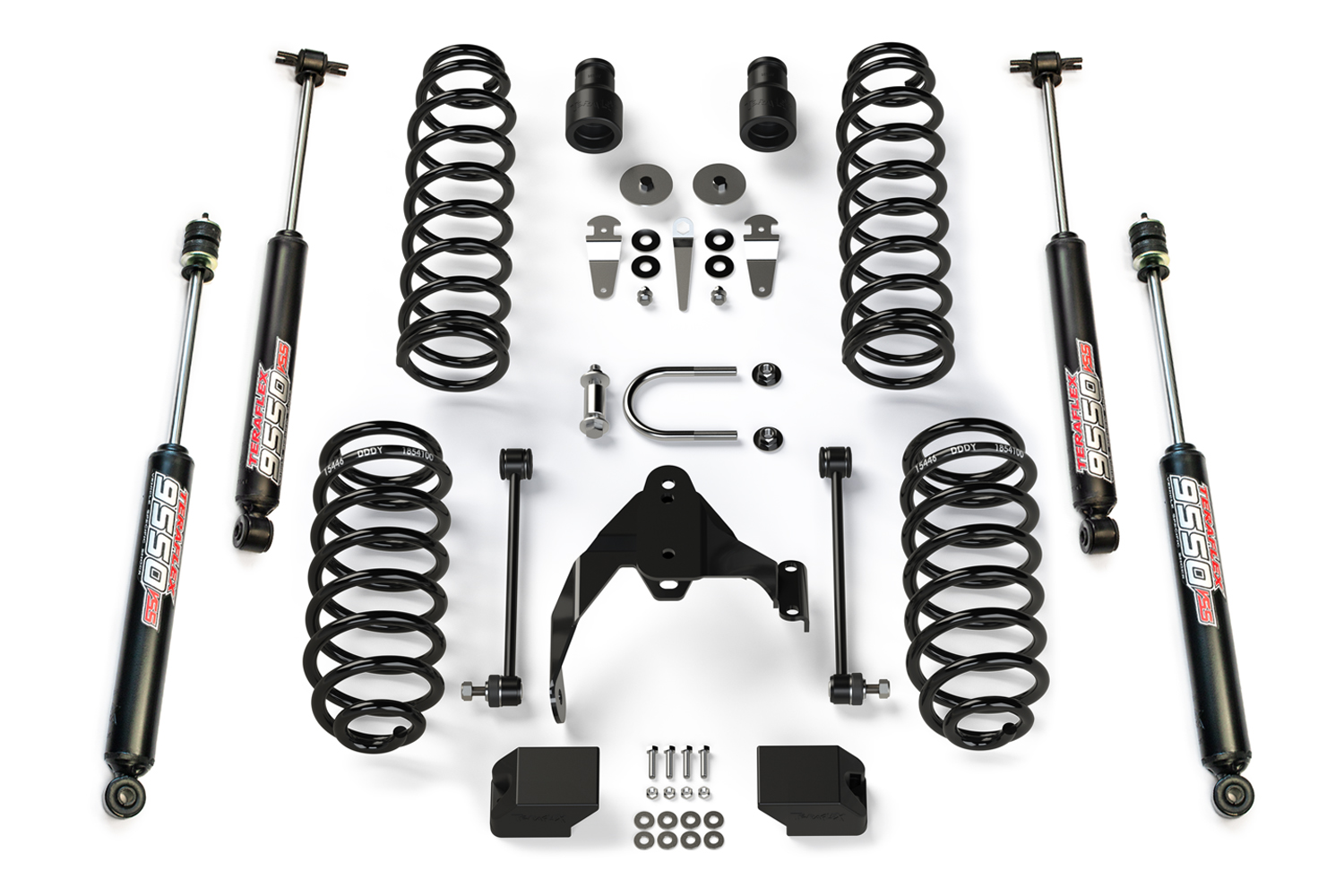 Teraflex Suspension 2.5in Lift Kit, w/ Shocks  - JK 4DR