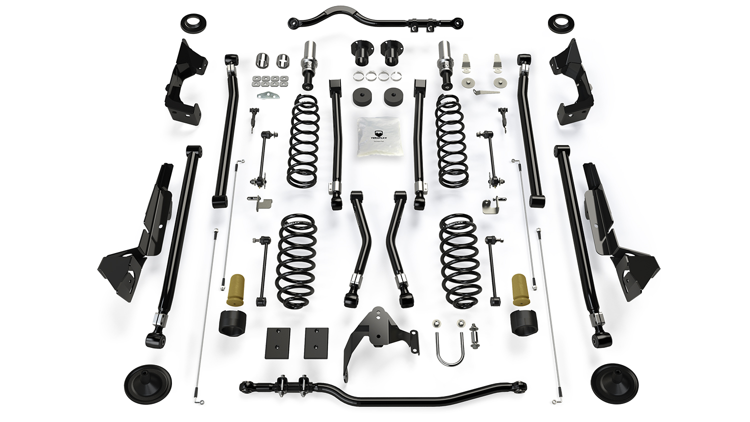 Teraflex Alpine RT4 4in Long Arm Lift Kit - JK 4dr