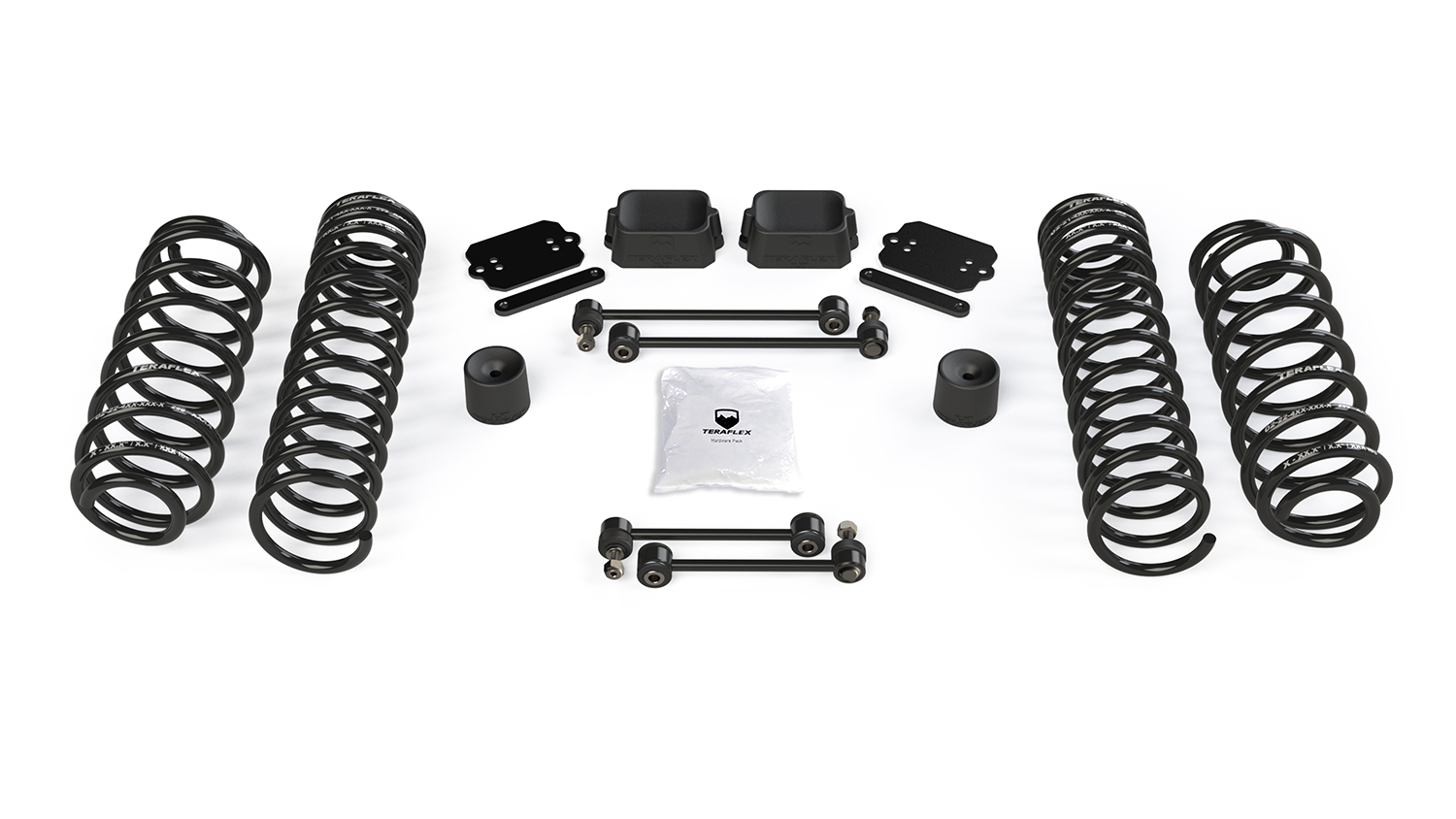 Teraflex 2.5in Coil Spring Base Lift Kit - No Shocks - JL 2Dr