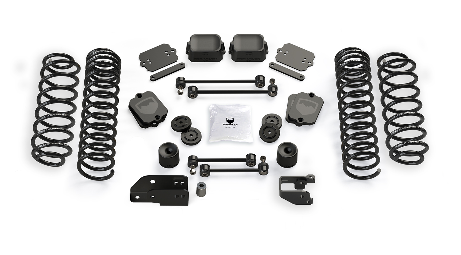 Teraflex 3.5in Coil Spring Base Lift Kit - No Shocks - JL 4Dr