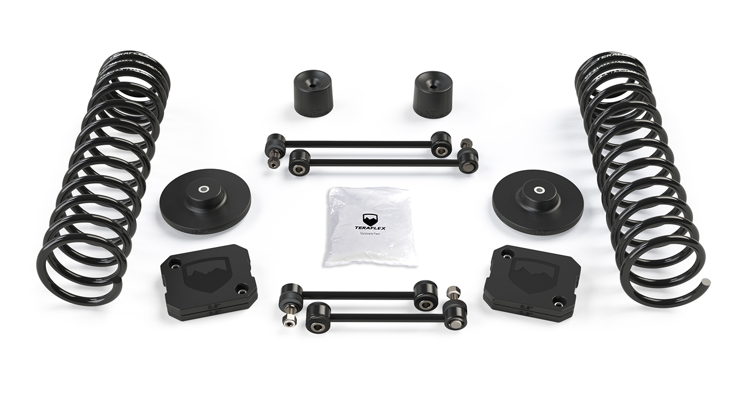 Teraflex 2.5in Coil Spring & Spacer Lift Kit - No Shocks