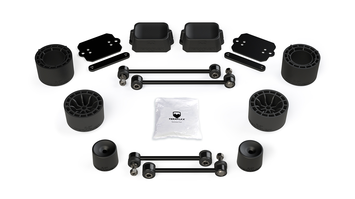 Teraflex 2.5in Performance Spacer Lift Kit  - JL 4Dr Rubicon Only