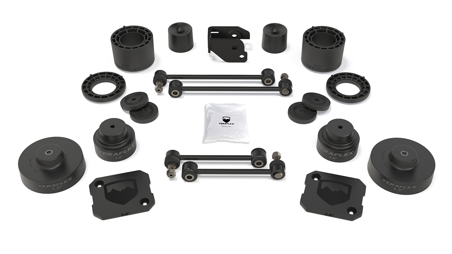 Teraflex 3.5in Performance Spacer Lift Kit - No Shocks - JT