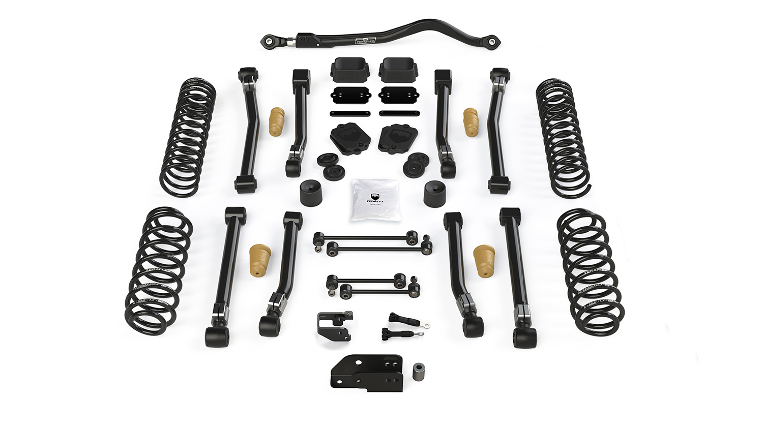 Teraflex 3.5in Alpine CT3 Short Arm Lift Kit - w/o Shocks - JL 4dr