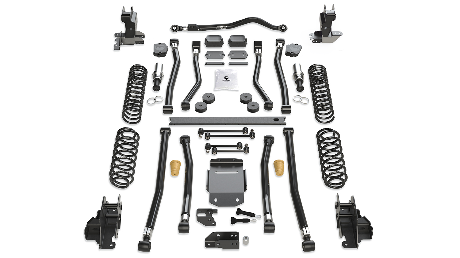 Teraflex Alpine RT3 3.5in Long Arm Lift Kit - JL 2dr