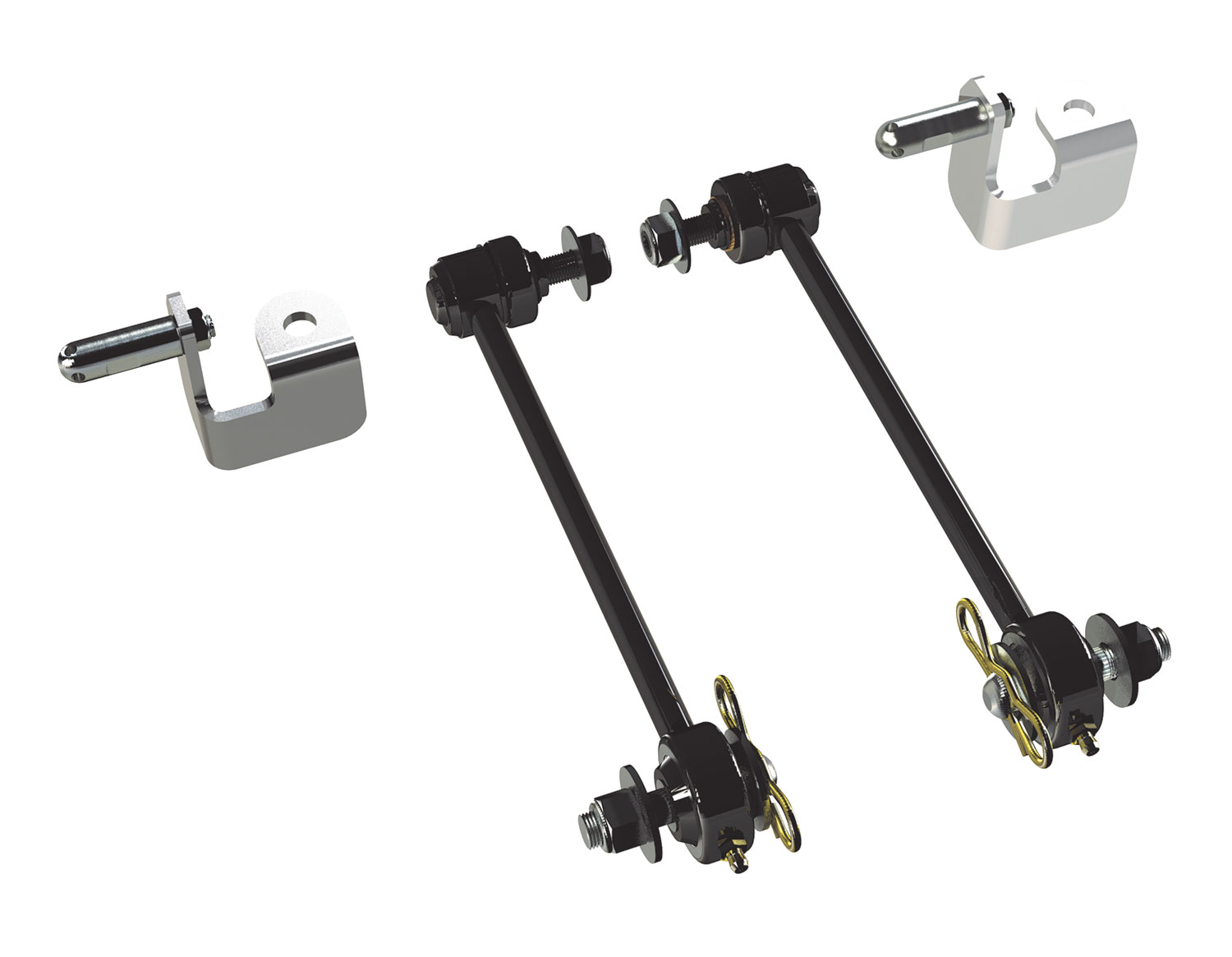 Teraflex Front Swaybar Disconnects Kit 6in - JK