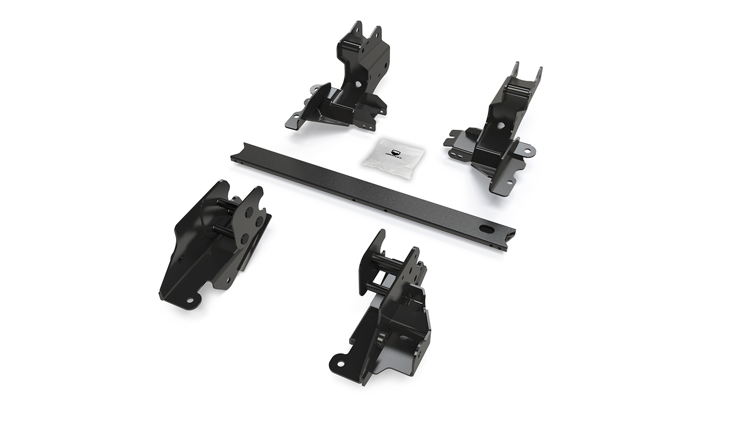 Teraflex Alpine Long Arm Brackets - 3in-6in - JL 4dr