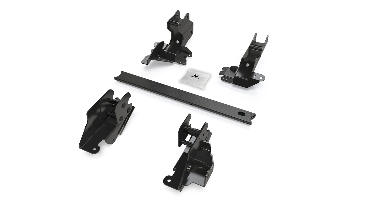 Teraflex Alpine Long Arm Brackets - 3in-6in - JL 2dr