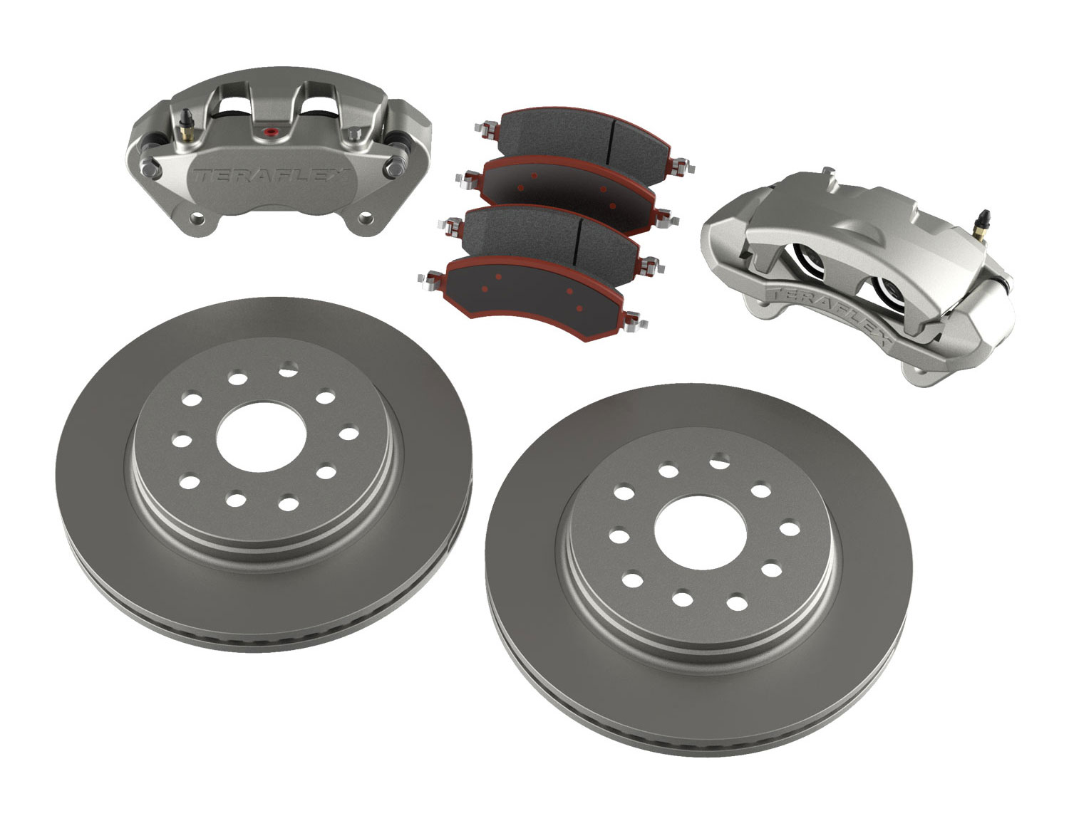 Teraflex Big Brake Kit Front, Plain - JK