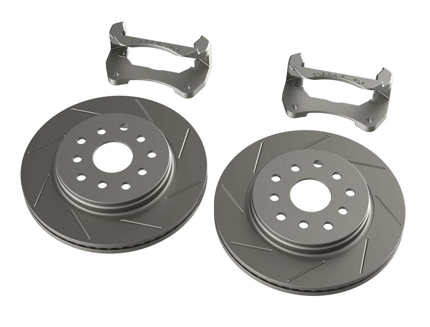 Teraflex Performance Big Rotor Kit Slotted Front - JK
