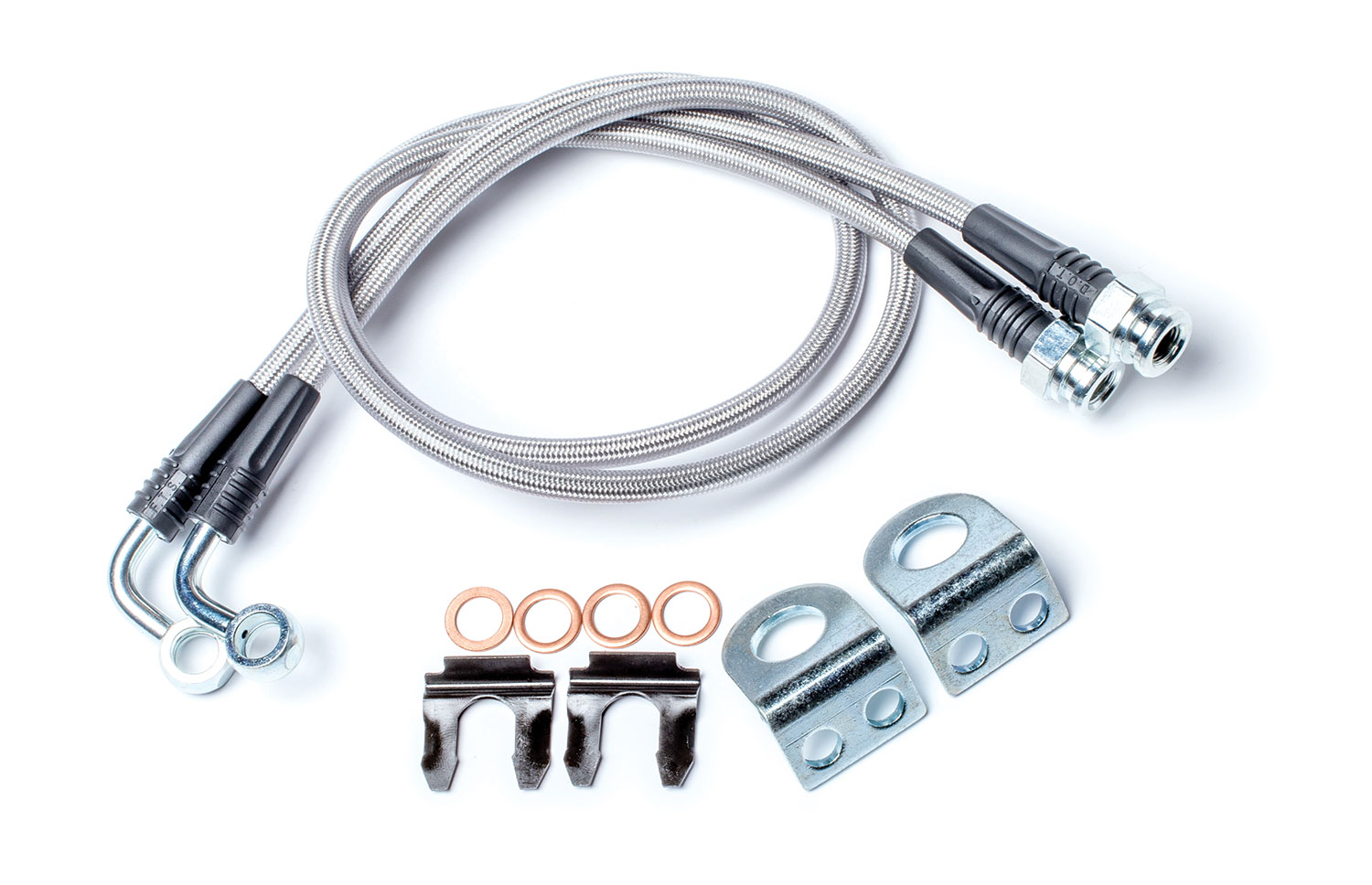 Teraflex Extended Brake Line Kit w/ Hardware Rear - JK