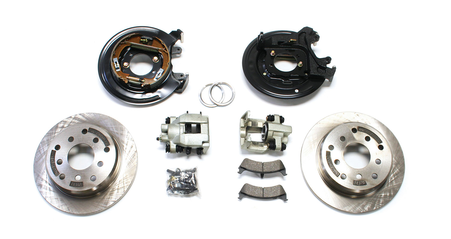 Teraflex Ford Rear Disc Brake Conversion Kit - TJ/LJ