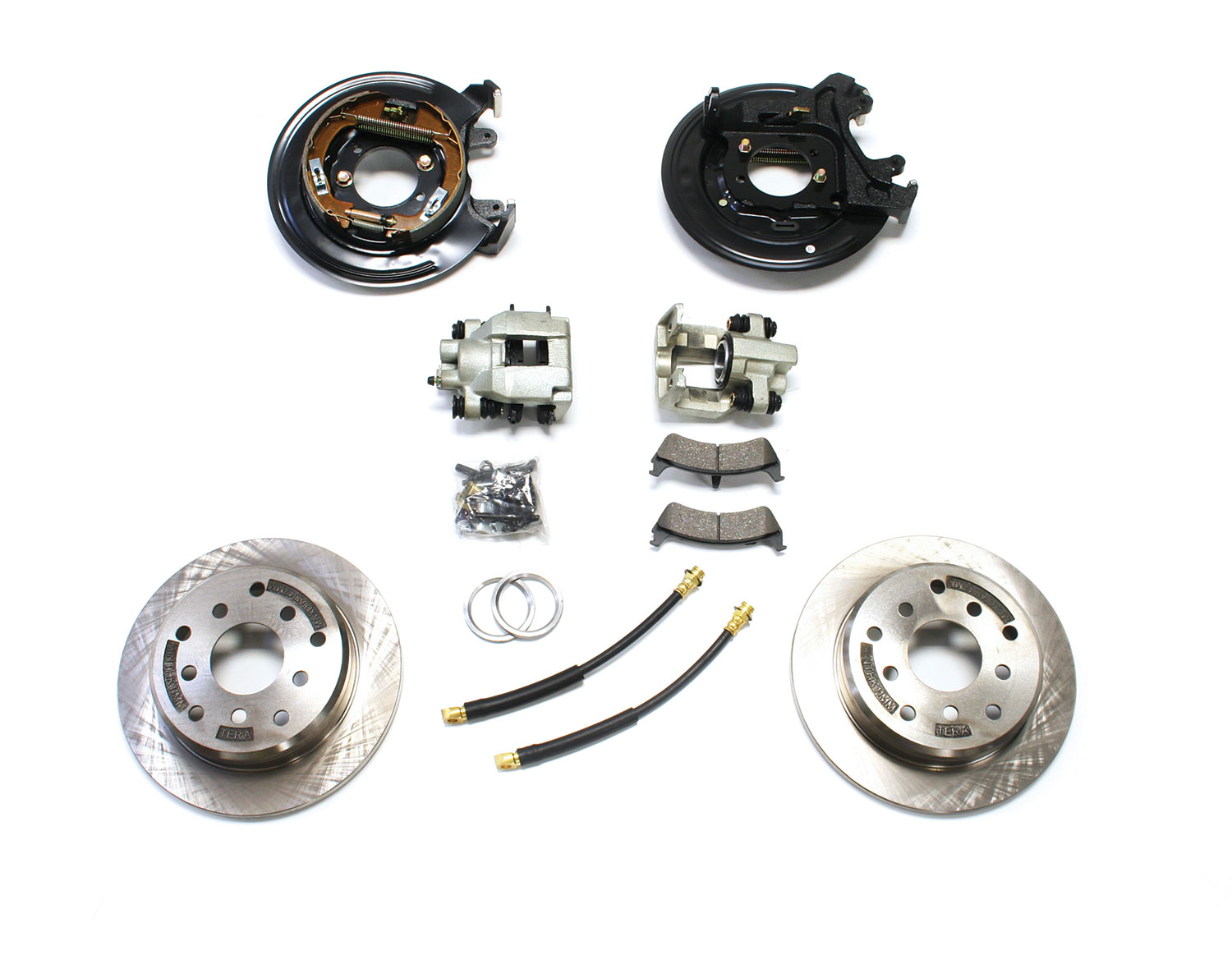 Teraflex Rear Disc Brake Conversion Kit - TJ/LJ